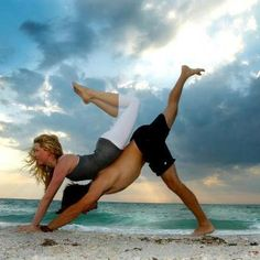 Partner Yoga! Discover A RARE, Ancient Cleansing Secret That Can RADICALLY Improve Your Yoga Practice, Tone & Sexify Your Body, And More... http://GetRadicallyHealthy.com/sexy-yoga-body/