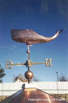 Whale Weathervane