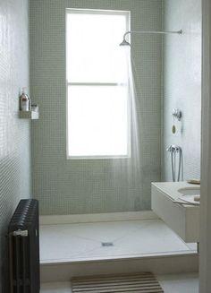 completely tiled wet room