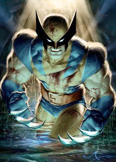 Wolverine Alone by Alex Garner