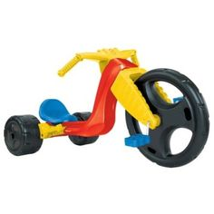 mattel big wheel for chasing eachother around the block