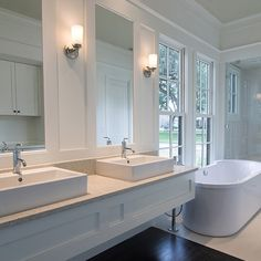 For the best lighting, position fixtures at face level on both sides of a mirror.