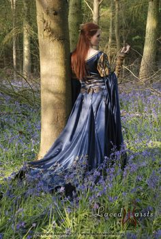forest, maiden, fantasy