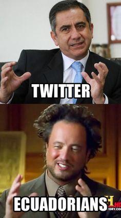 El Alcalde Augusto Barrera cierra su cuenta en Twitter