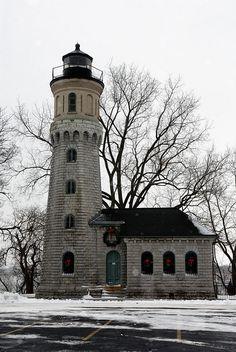 Winter Lighthouse Fort Niagara