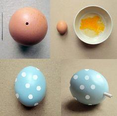 huevos de pascua de la fortuna manualidades souvenir