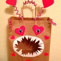 Valentine bag won 1st place