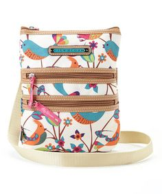 This Tweety Twig Multi Section Crossbody Bag by Lily Bloom is perfect! #zulilyfinds