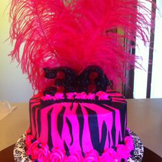 30th birthday cake... LOVE! I want this cake!