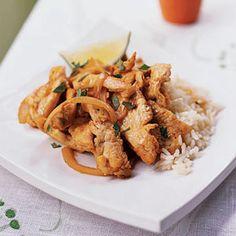 Thai Chicken Sauté   MyRecipes.com