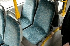 Hammering A Bus Seat
