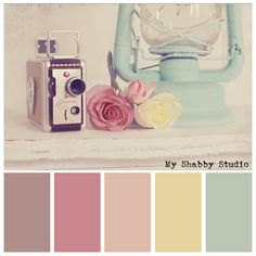 Soft color palette  #myshabbystudio photography - Tasha Tidd