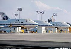 Pam Am Boeing 747-121 aircraft