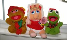 Christmas Muppet Babies from McDonald's...I had all 3!