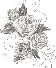 This would be great with a little color and a skull or two!