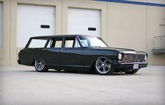 63' Chevy Nova Wagon #Cars #Speed #HotRod