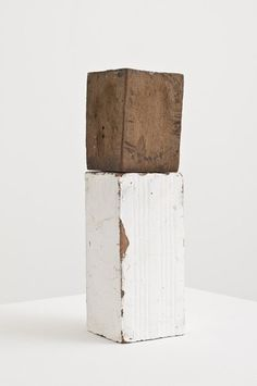 Fernanda Gomes Untitled, 2012. Wood, brick, plaster. 29.4 x 8.3 x 8.3 cm / 11 5/8 x 3 1/4 x 3 1/4 in