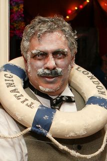 Titanic Zombie costume, by Rob Parisi. The icy touches are brilliant!