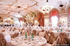 WedLuxe: #Ottawa #wedding held at the Fairmont Château Laurier