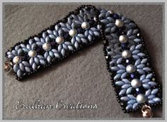 "Free tute from Eridhan Creations. Calling it ""simplicity"". #Seed #Bead #Tutorials"