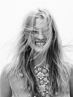 Lara Stone for Vogue Netherlands, May 2012. Photographer: Josh Olins.