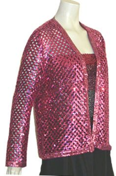 1980s Sequins Jacket and Tube Top