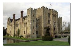 Hever Castle, Kent.  The childhood home of Anne Bolyn