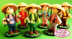 Muñecas de filigrana - quilling 3D