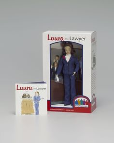 'Laura The Lawyer' collectible attorney doll