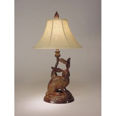 Thistle and Hare Table Lamp