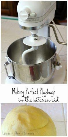 Make amazingly soft playdough with this no fail recipe!