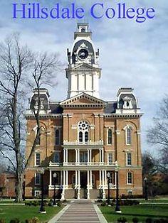 Hillsdale College in Hillsdale, Michigan