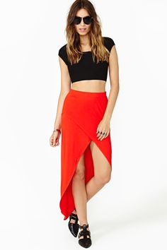 Undercover Maxi Skirt by Nasty Gal