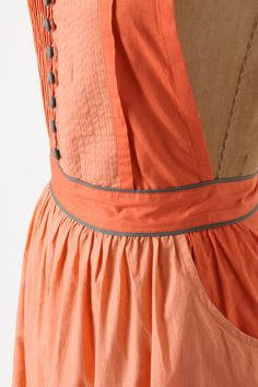 Mellow Coral Apron - Anthropologie.com