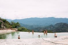 Hierve el Agua, Cascada Chica