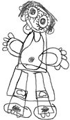 drawing developmental chart