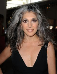 Lauren. One of the women who first inspired me to go gray!
