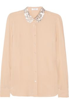 Sophie washed silk shirt, Equipment