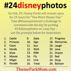 #24disneyphotos