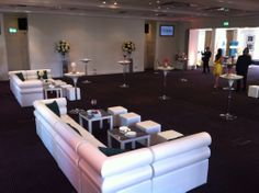 Reception Event in the David Lean Room using furniture hired in from www.velvetliving.co.uk