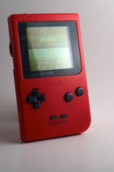 Game Boy Pocket (red; 1996)