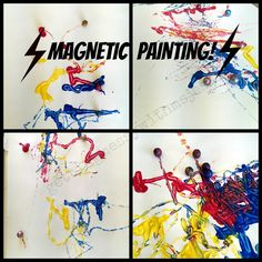Getting Messy With Ms. Jessi: Magnetic Painting!