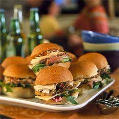 Chicken and Roast Beef Muffulettas | MyRecipes.com