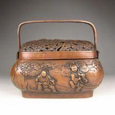 Chinese Bronze warmer