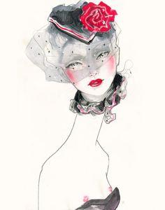 artsi doodl, art project, crazi art, david mckenney, fashion illustr, joshua david, eleg illustr, femal illustr