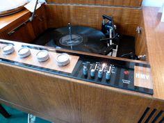 Fab HMV radiogram at the MK Handmade & Vintage Fair, Middleton Hall, Milton Keynes, November 2013