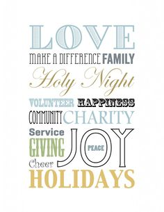 You know what I love most about this holiday printable from MomItForward.com ? It focuses on the things that mean the most to me, not only during the holidays, but all year long.