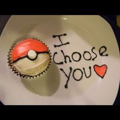I choose you <3, this would be such a cute way to ask someone out to a dance -pmg
