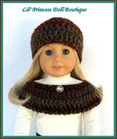 Made For American Girl Dolls Crochet by LilPrincessDollStore, $8.00