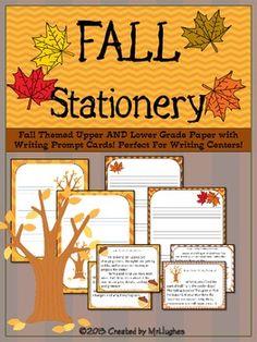 Fall Themed Stationery {FREEBIE}